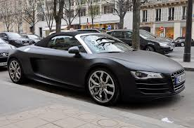 audi r8 convertible black. Perfect Convertible Matte Black Audi R8 V10 Spyder  By Jethro Intended Convertible U