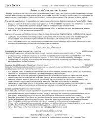 Operations Resume