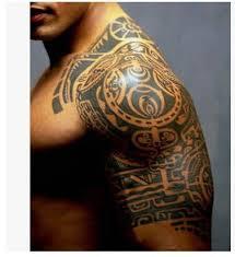 Hot 1ks Dwayne Johnson Stejná Ruka 3d Tetování Nálepka Vodotěsné