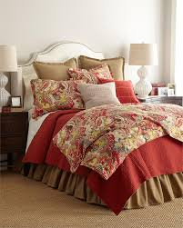duvet cover richloom teak cardinal from french laundry home jocelyn paisley