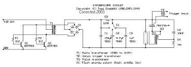 12v stroboscope circuit diagram of the stoboscope