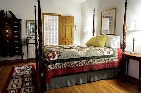 runners are ideal for the end of the bed and the sides of the beds because they just add a little bit of pizzaz to the room