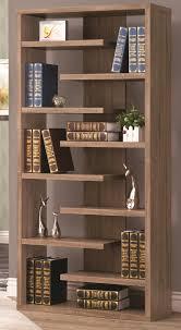 rustic wood cool retail bookcase floating shelves store unique