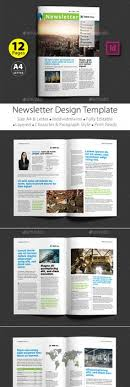 newsletter template for pages corporate newsletter layout product showcase newsletter layout