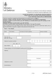 Pension Service Claim Form Form explorer 1
