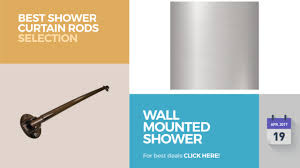 wall mounted shower curtain rods best shower curtain rods selection