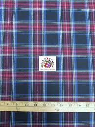 Plaid Tartan Quilt Flannel Fabric & Black/Red Plaid Tartan Quilt Flannel Fabric 60
