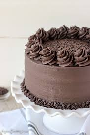 chocolate cake with frosting. Delighful With This Decedent Chocolate Stout Cake Is A Dark Chocolate Cake Spiked With  Stout Beer Intended With Frosting C