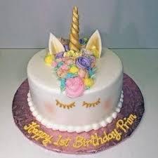 1st Birthday Cake Girl Designs Birthdaycakeformomcf