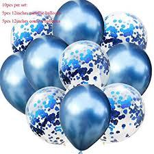 PREMIUM QUALITY Rose Gold <b>Confetti</b> Balloons ? Clear Latex ...