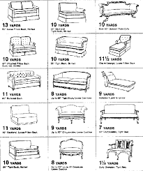 Upholstery Chart For Furniture Little Green Notebook Upholstery Charts Diy Projects
