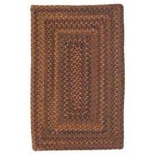 rectangle braided area rug