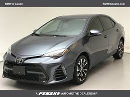 2017 Used Toyota Corolla 4DR SDN XSE CVT AT at BMW of Austin ...