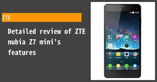 ZTE nubia Z7 mini - Features and ...