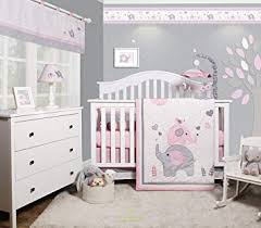 baby room for girl. Perfect Girl GEENNY OptimaBaby Pink Grey Elephant 6 Piece Baby Girl Nursery Crib Bedding  Set Inside Room For