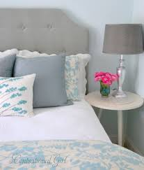 Do It Yourself Headboard How To Make A Tufted Headboard Amys Office