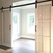 glass barn doors glass sliding barn doors sliding glass barn doors exterior
