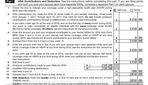 8889 form 2016 how to handle excess contributions on form 8889 hsa edge