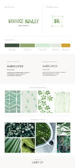 Style Template Free Brand Style Guide Template Libby Co Boutique Branding