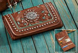 4030441502 western leather wallet
