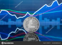 Litecoin Ltc Cryptocurrency Investing Concept Physical Metal