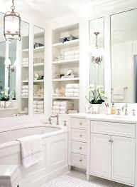 built in bathroom shelves bathroom traditional with built in shelves freestanding bathtubs built in bathroom storage shelves