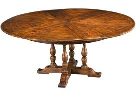 jupe table with leaves in open position