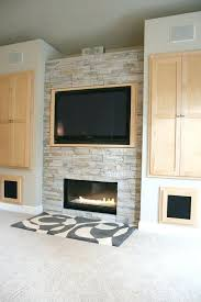 gas fireplace tv cabinet living room fireplace built in cabinet detail modern living room other metro