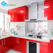Red Tile Paint For Kitchens Online Buy Wholesale Red Kitchen Tile From China Red Kitchen Tile