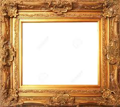antique frame. Old Antique Gold Frame Stock Photo - 10350517