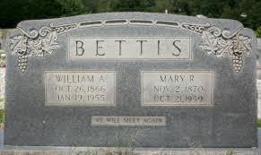 Mary Avis Robertson Bettis (1870-1959) - Find A Grave Memorial