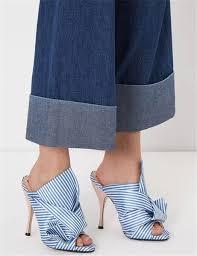 Compre 2017 Nuevo Diseño De <b>Lujo</b> Azul Blanco Rayas <b>Zapatillas</b> ...