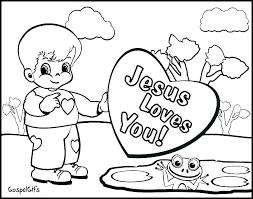 Preschool Sunday School Coloring Pages For Preschoolers Free Bible