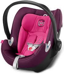 Cybex Aton Q Mystic Pink Purple Infant Carrier