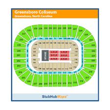 Greensboro Coliseum Seating Chart For Trans Siberian Orchestra Greensboro Coliseum Complex Greensboro Event Venue
