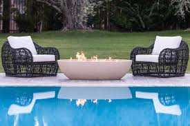 Eldorado Outdoor Kitchen Eldorado Stone Kulm Artisan 60 Inch Oval Gas Fire Pit