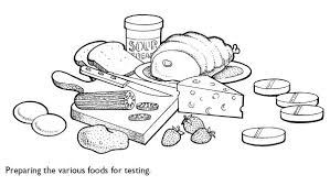 Small Picture Protein Food Group Coloring Pages Coloring Pages