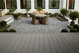 how to install composite decking over
