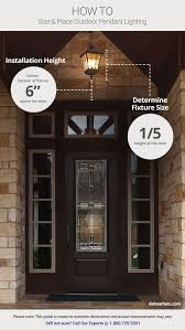 front door lighting ideas. best 25 front porch lights ideas on pinterest lighting hanging and stone steps door 9