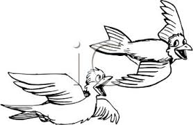 birds flying black and white clipart. Wonderful Birds For Birds Flying Black And White Clipart