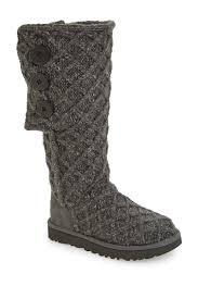 Ugg Lattice Cardy Uggpure Tm Knit Boot Nordstrom Rack