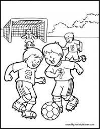 Disegni Da Colorare Di Calciatori Per Bambini Sportivi