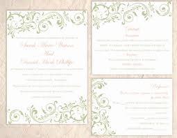 Diy Invitation Template Diy Wedding Invitation Template Elegant Diy Wedding