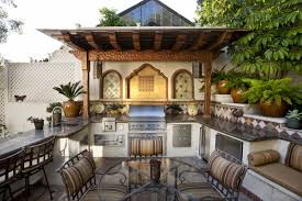 Tropical Outdoor Kitchen Designs Simple Inspiration Ideas