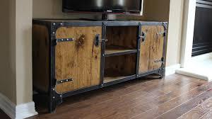 industrial media furniture. vanderbilt industrial media console furniture