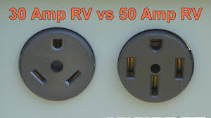 30 amp rv vs 50 amp rv youtube how does a 30 amp to 50 amp rv adapter work at 50 Amp To 30 Amp Adapter Wiring Diagram