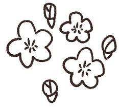 桃の花のイラスト花 ゆるかわいい無料イラスト素材集