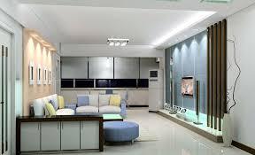 tv room lighting ideas. Light Blue TV Wall Design For Modern Minimalist Living Room Tv Lighting Ideas