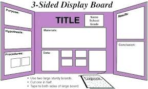 Science Fair Project Labels Printable Video Project Template