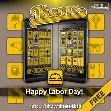 labor day theme s4bb limited labour day theme for blackberry 10 now available
